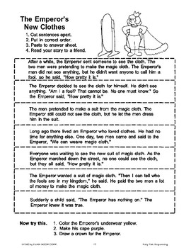 The Emperor's New Clothes (Sequencing)