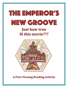 The Emperor's New Groove - How true IS this movie? Post-Vi
