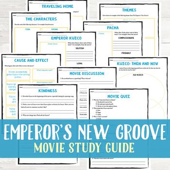 The Emperor's New Groove Movie Study