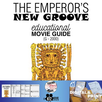 The Emperor's New Groove Movie Guide | Questions | Worksheet (G - 2000)