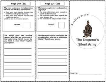 The Emperor's Silent Army - 6th Grade Reading Street