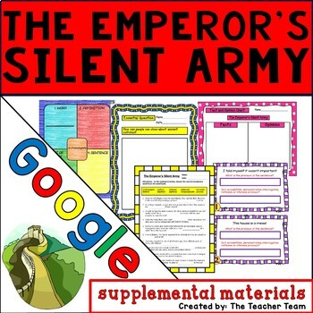 The Emperor's Silent Army Journeys 6th Grade Unit 4 Lesson 17 Google Drive