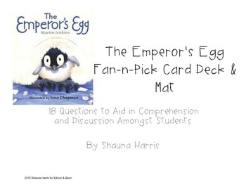 The Emperor's Egg Fan & Pick Cards (Trophies 2nd grade)