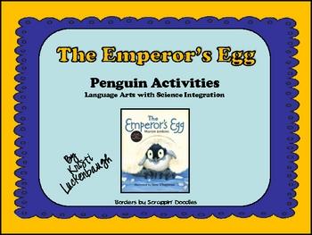 The Emperor's Egg - Penguin Activities