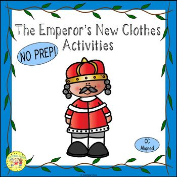 The Emperor's New Clothes Fairy Tales Worksheets Activitie