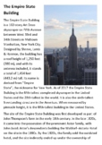 The Empire State Building Handout