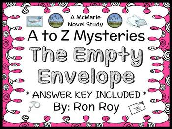 The Empty Envelope : A to Z Mysteries (Ron Roy) Novel Study / Comprehension
