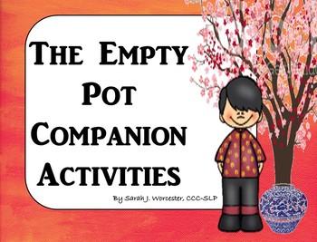 The Empty Pot - Companion Activities for Speech & Language