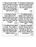 The Empty Pot -Missing Addend and Subtrahend- 12 Word Problem Cards
