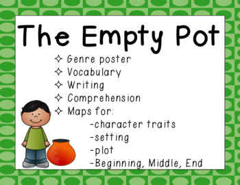 The Empty Pot Printable and Paperless Resources