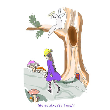 The Enchanted Forest  (narrated musical story for creative movement and acting)