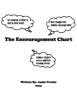 The Encouragement Chart: Get Assignments Turned in and See Grades Rise