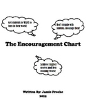The Encouragement Chart: Get Assignments Turned in and See