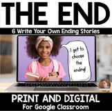 "The End: PART 2- Six ""You Write the Ending"" Stories- Print"