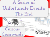The End- Worksheet (Book 13 Series of Unfortunate Events)