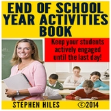 End of School Year Activities Book