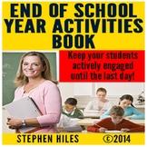 End of School Year Activities Book
