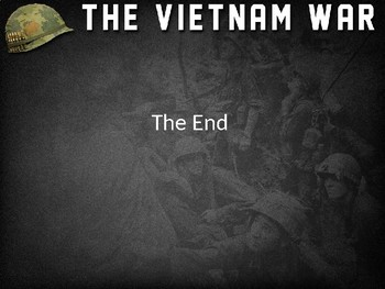 The End of U.S. Involvement in the Vietnam War