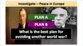 The End of WWI & Treaty of Versailles (LP + Docs + PPT + Notes)