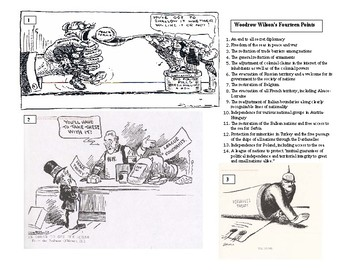 The End of World War I: Wilson's 14 Points and the Treaty of Versailles