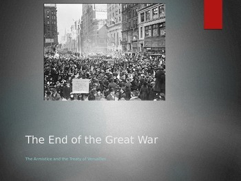 The End of World War One