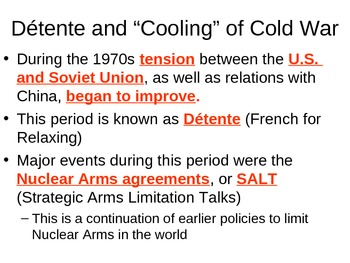 The End of the Cold War Guided Notes
