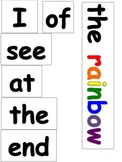 The End of the Rainbow Pocket Chart Activity Common Core Aligned