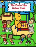 The End of the School Year 1, 2, 3 (ebook - KWL, Venn, mor