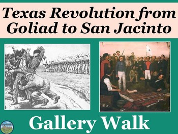 The End of the Texas Revolution Gallery Walk