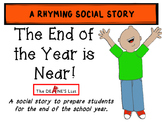 Social Skills Stories: The End of the Year is Near!