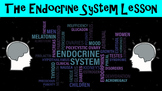 The Endocrine System No Prep Lesson with Power Point, Worksheet, and Activity