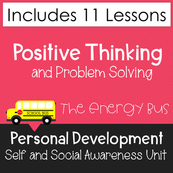 The Energy Bus - Activity packet for teens!