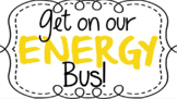The Energy Bus- For Kids Classroom Rule Set