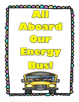 the energy bus for kids positive class rules yellow black tpt rh teacherspayteachers com Energy Bus Vampire Quotes Energy Bus Jon Gordon Quotes