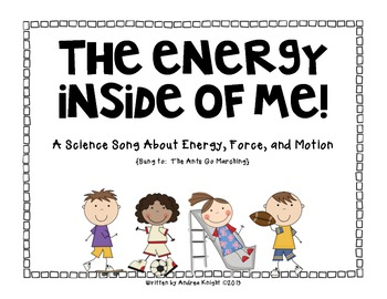 The Energy Inside of Me!  {A Science Songbook & Reader}