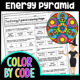 The Energy Pyramid Color By Number | Science Color By Number