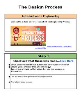 The Engineer Process Activity Google Classroom
