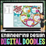 The Engineering Design Process Digital Doodle | Science Di