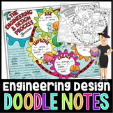 The Engineering Design Process Doodle Notes for Science with PowerPoint & Quiz