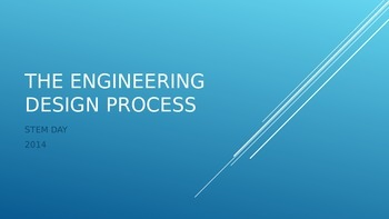 The Engineering Design Process Introduction