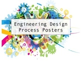 The Engineering Design Process Posters (STEM and STEAM Education)