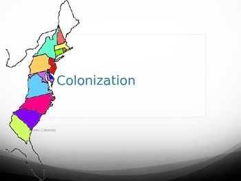 The English Colonies