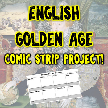 The English Golden Age & The Glorious Revolution Comic Strip Project