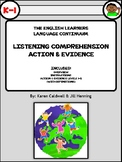 The English Learners Language Continuum (Listening Comprehension)