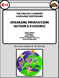 The English Learners Language Continuum (Speaking Production)