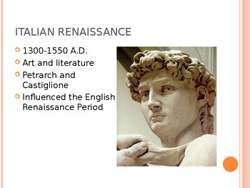 The English Renaissance and William Shakespeare