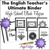 The English Teacher's Ultimate Binder {High School Black F
