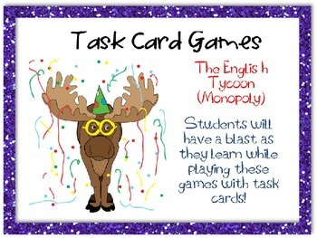 The English Tycoon (Monopoly) Task Card Game