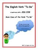 """The English Verb """"To Be"""" and Its Uses"""