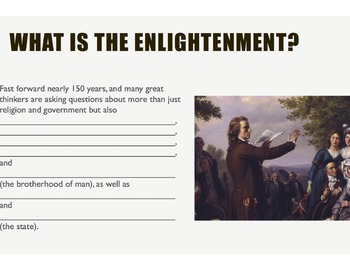 The Enlightenment - A Biography, Philosophy, and History Lecture Series